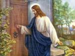 Jesus Christ knocks the door