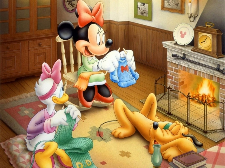 Minnie Mouse - toon, mouse, Minnie, disney