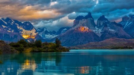 Beautiful Scenic Mountain - scenic view, beautiful nature, scenic, scenic mountain, scenic nature, Beautiful Scenic Mountain