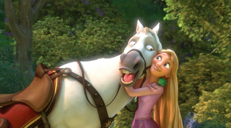 walt disney rapunzel - rapunzel, pascal, moment, never alone, walt disney, maximus, fairytale, princess