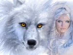 Wolf and beauty