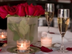 Romantic dinner on the day of ♥Valentine♥