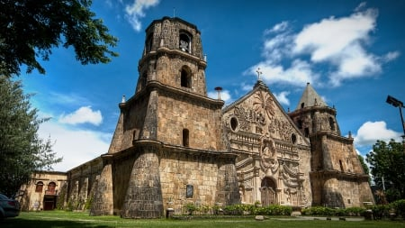 Philippines Old Church - unesco, heritage, landmark, church, old, philippines