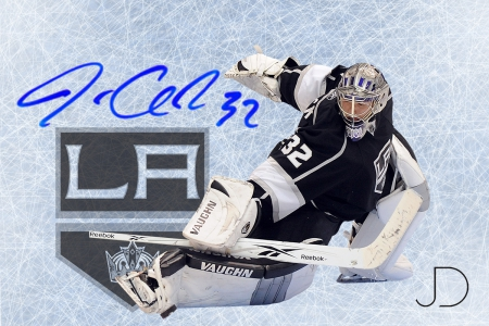 Jonathan Quick SS - jonathan, los, angelas, hockey, quick, series, goaltender, kings, goalie, autograph, signature