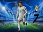 Cristiano Ronaldo Champions League Wallpaper