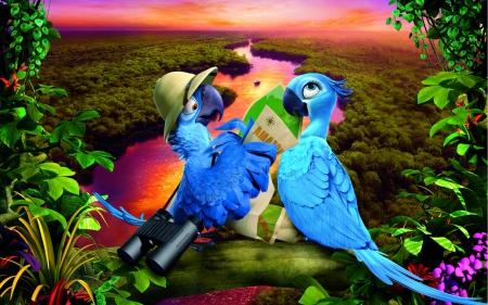 Rio 2 2014 Movies Entertainment Background Wallpapers On Desktop Nexus Image 1682378