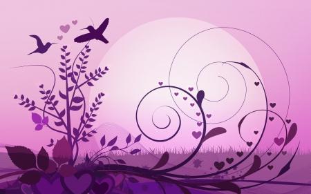 Love Birds 3d And Cg Abstract Background Wallpapers On Desktop Nexus Image 1682496