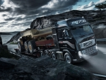Volvo FH16 750 with dump truck