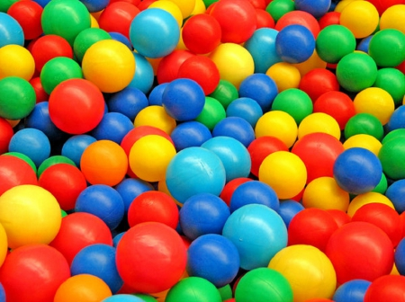 Balls - colorful, round, 3D, Balls