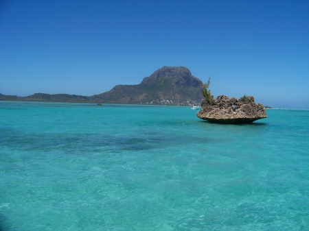 Blue waters - Africa, Sea, holidays, MAURITIUS