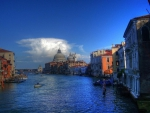 the wonderful grand canal in venice