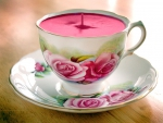A cup of rose