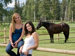 Cowgirls On The Ranch