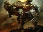 Steampunk Wolverine