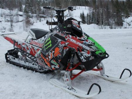Polaris Pro RMK - snowmobile, thrill, fun, ride