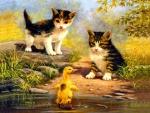 Pond pals