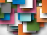 Colored Paper Squares