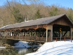 The Covered Bridge in Winter