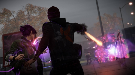 inFamous Help - infamous, second, attack, son