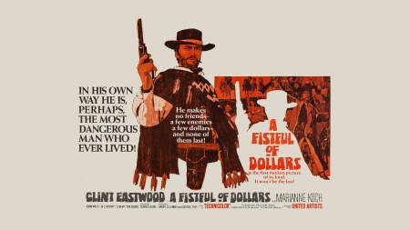 A fistful of dollars - fistful, dollars, A, of