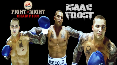Fight Night Champion - Isaac Frost - muhammad ali, ps3, andre bishop, ea games, ufc, boxing, mike tyson, xbox360, ea sports, fight night champion, isaac frost