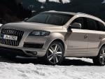 Audi Q7 in the snow
