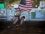 American Rodeo Cowgirl