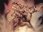 Hades with Cerberus