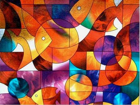 Colourful Fishes Fantasy Amp Abstract Background