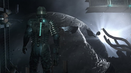 Dead space artwork - dead space, horor, game, screen, artwork