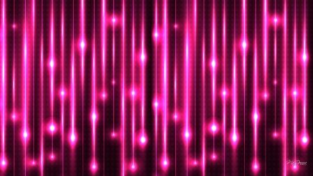 Neon Rain Bright Colors Wallpapers And Images Desktop