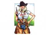 Cowgirl Barbie