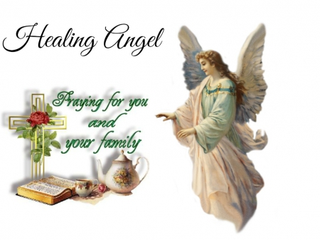 Healing Angel For Robert 3d And Cg Abstract Background