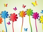 Butterfly Flower Medley