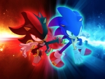 Shadow and Sonic!