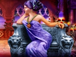 ~Gothic Lady in Purple~