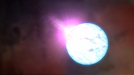 Magnetar - neutron, imploded, collapsed, star