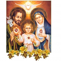 Sweet holy family