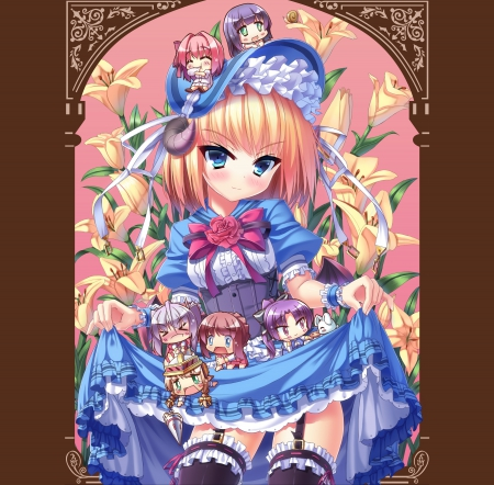 Lil Chibi Other Anime Background Wallpapers On Desktop Nexus