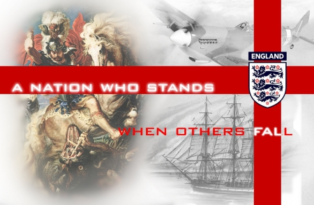 English Nation - britain, england, uk, gb, rule, screensaver, 3 lions, nation who stands, wallpaper, english, empire, st george, great britain