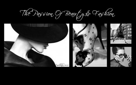 Passion of Beauty and Fashion - Fashion, Darkbaby, Beauty, Black and White, Retro fashion