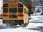 Snowy School Day