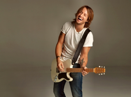 Keith Urban - Keith, guitar, Music, Urban, smile