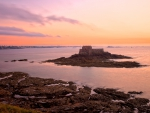 Saint-Malo Twilight Scenery - HDR