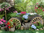Flowers With A Touch Of Country