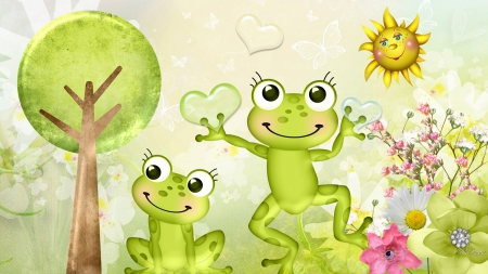 Spring Frogs