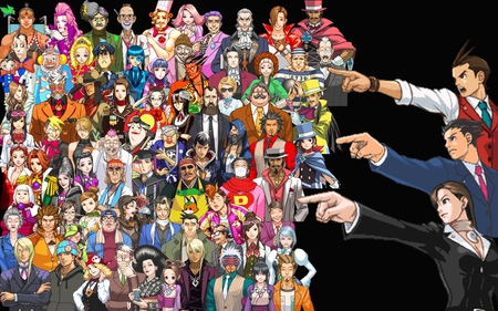Ace Attorney Characters - apollo justice, phoenix wright, ace attoreny