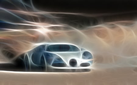 veyron new background - cool, car, fractals, flash, blues, veyron new background