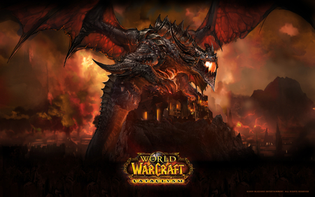 world of warcraft cataclysm - world of warcraft, game, pc