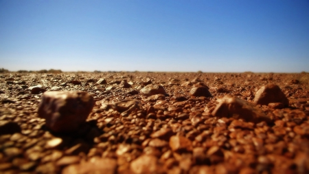 Rocky Ground - Rocky, Blue Skies, African, Background